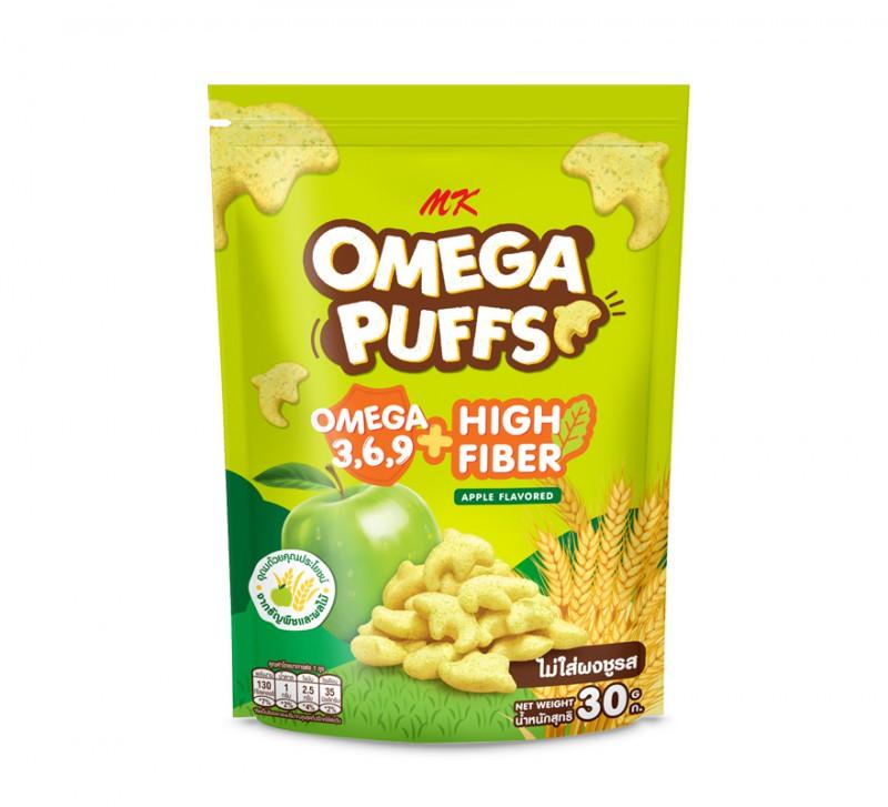 MK Omega Puffs แอปเปิ้ล 1 ซอง