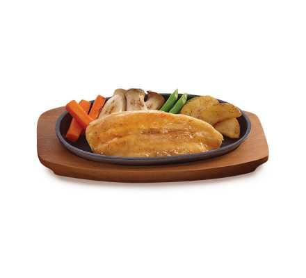 ปลาแพนกาเซียส ดอร์รี่ ย่างซีอิ๊ว(อาหารจานเดียว)
